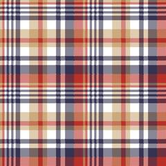 Pixel plaid textile tartan seamless pattern