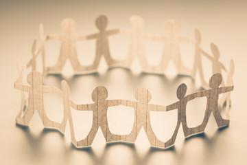 Circle of Human Chain Doll