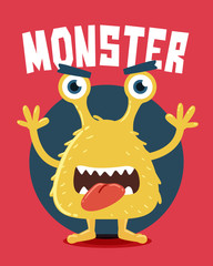 Yellow Monster Screaming
