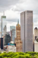 Manhattan architecture, New York, USA.