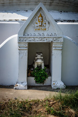 11 February, 2018, Samut Prakan province Thailand : Wat Phichai Songkhram Temple