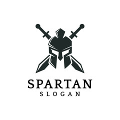 Spartan logo vector graphic abstract symbol