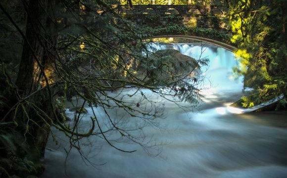 Chuckanut Sandstone Bridge, Whatcom Falls, WA