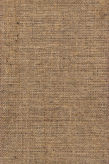 Natural Brown Burlap Canvas Coarse Grunge Background Texture