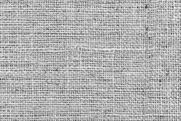 Gray Burlap Canvas Coarse Grunge Background Texture