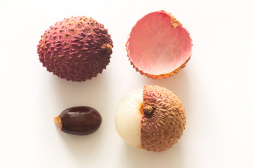 Lychee / Healthy and juicy fruits.