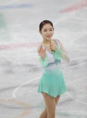 Olympics: Figure Skating-Team-Womens Short Program