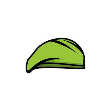 Military hats Logo Template vector icon design