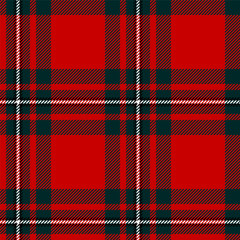Scottish plaid, classic tartan seamless pattern