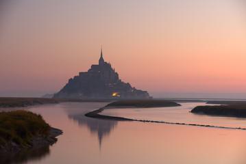 mont-saint-michel in Bretagne