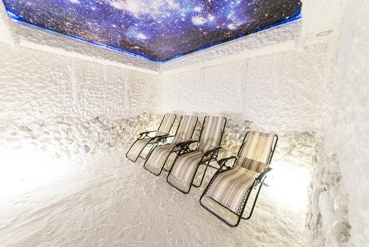 salt room for rejuvenation