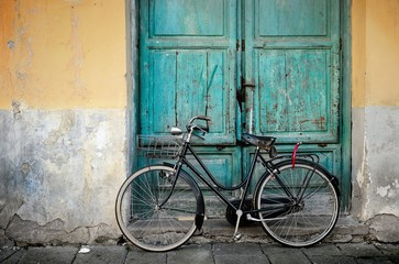 Fotomurales - Italian old style bicycle