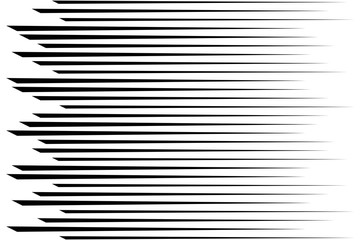 Horizontal speed lines for comic books. Abstract background. Vec