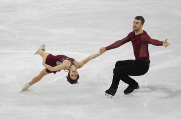 Olympics: Figure Skating-Team-Pairs Free Skate Program