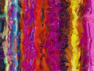Colorful Abstract Painting. Color juice mix.