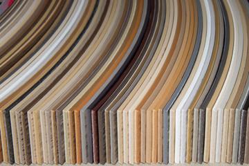 samples edges PVC