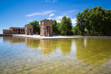 Temple of Debod, Madrid, Spain