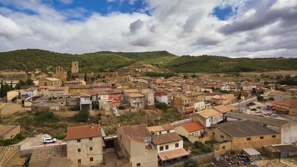 Catiliscar village in Zaragoza province, Spain