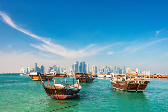 Waterfront in Doha