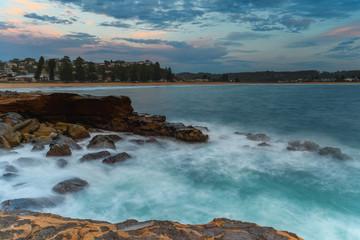 Sunrise Seascape and Shorescape