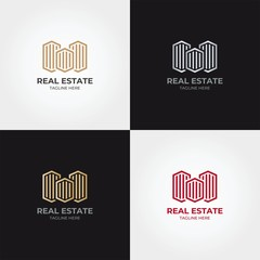 Real Estate Logo Icon Template