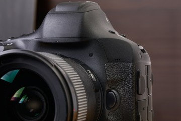 DSLR camera detail