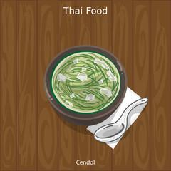 Thai Dessert Cendol