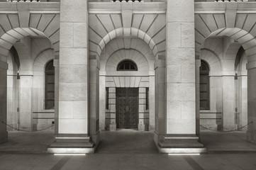 Fototapete - Classical exterior