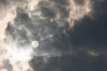 nimbus cloud try to hide the sun