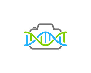 Dna Photography Icon Logo Design Element
