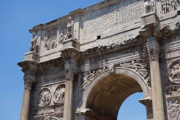 イタリア ローマ コンスタンティヌスの凱旋門 Italy Roma Arch of Constantine (Arco di Costantino)
