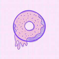 Illustration of donut