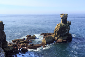Cape Carvoeiro - Most Western point of the Peniche Peninsula
