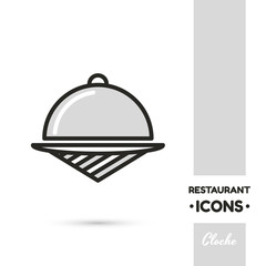 Cloche Restaurant Icon Collection