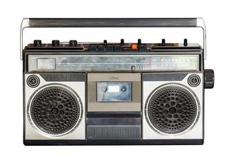 Retro radio isolated