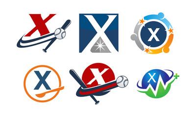 Logotype X Modern Template Set