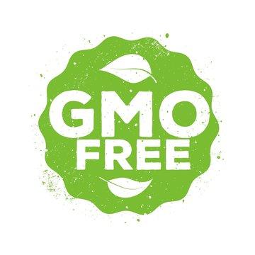 Gmo free vector sign