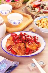 General Tso's chicken  - A Popular Taiwan food