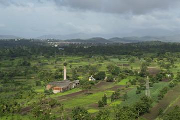 Landscape view near Bhatghar Dam Pune