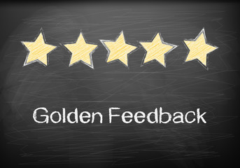 Golden Feedback on blackboard