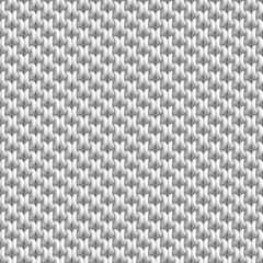 3D illustration - The background of the knit material. The seamless pattern.