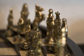 Satranç takımında  şah ve piyon