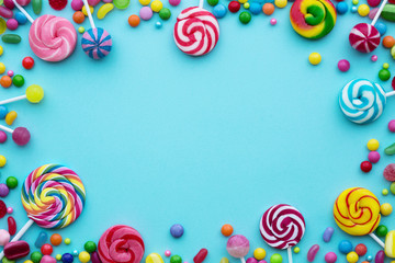 Garden Poster Candy Candy background