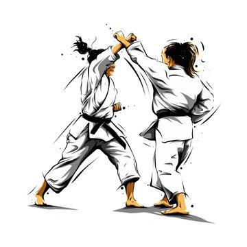 karate action 5