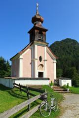 Filialkirche hl. Antonius von Padua, Lofer Ortsteil Au