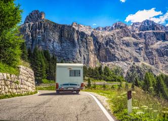 Mit dem Wohnmobil durch die Dolomiten, Italien