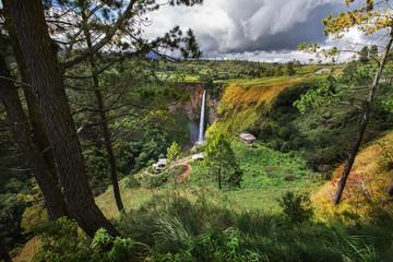 Sipiso-piso waterfall, Northern Sumatra, Indonesia