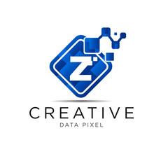 letter box pixel logo