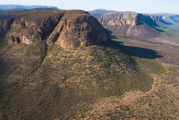 The Waterberg  mountain range