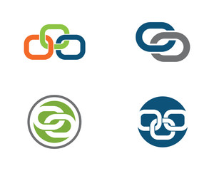 Business abstract unity vector logo